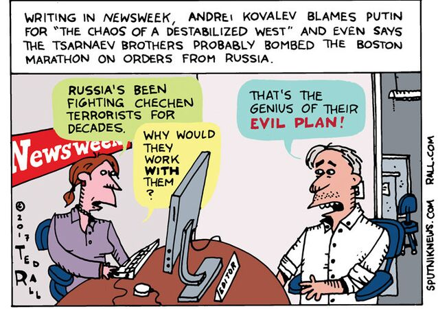 Kovalev Newsweek Cartoon