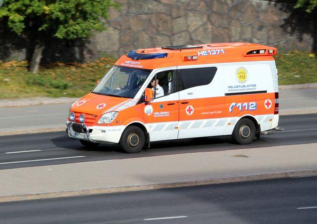 Helsinki ambulance
