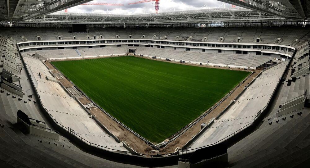 The Kaliningrad stadium