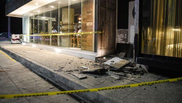 Damage caused an earthquake is seen in the Port of Veracruz on September 7, 2017 - Sputnik International
