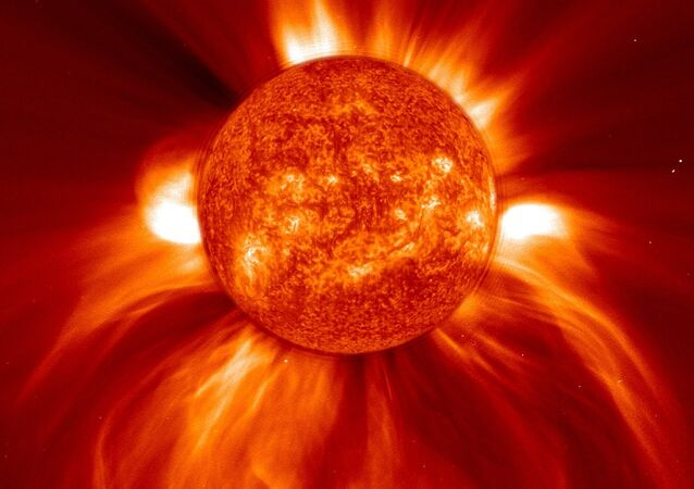 While scientists voice alarm over six recent solar flares, it is just the easy bit if compared to a mechanic contact between the star and the Earth