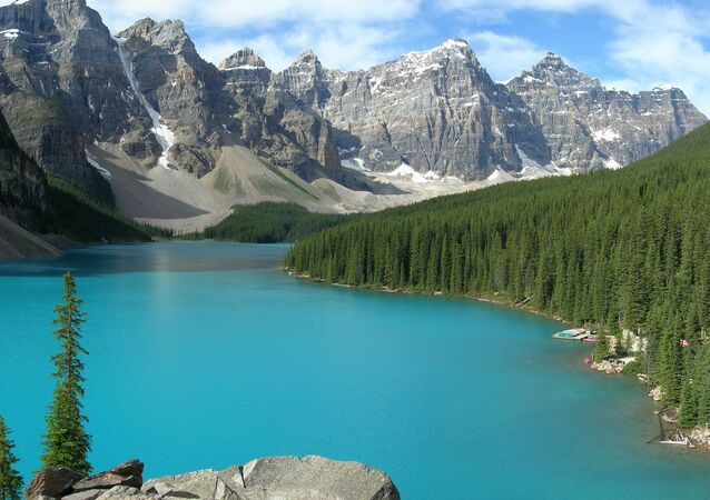 Banff National Park in the Canadian province Alberta