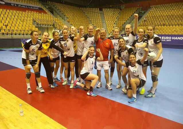 Handball U19 women's national team of Russia