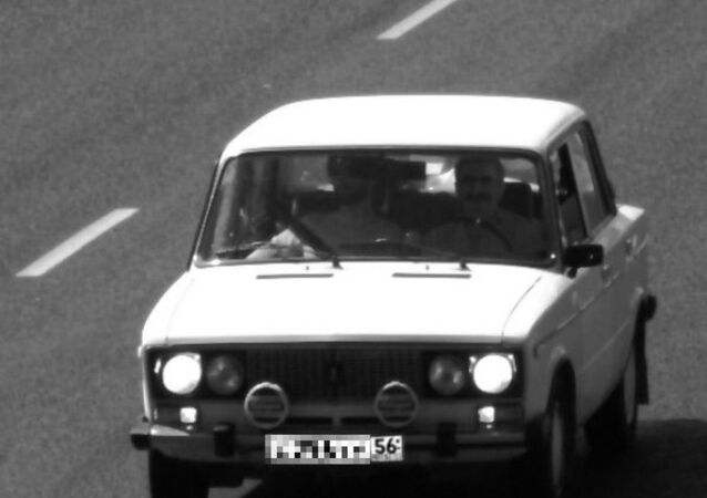 Traffic camera photo from Volgograd Region