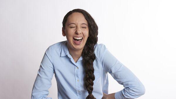 Laughing woman - Sputnik International