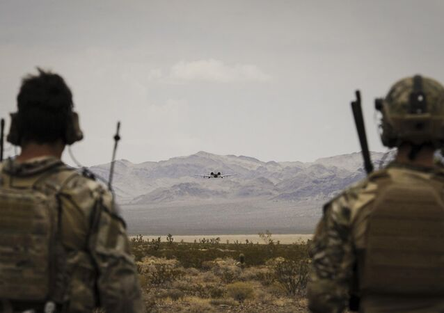 US Soldiers at Nellis Air Force Base, Nevada