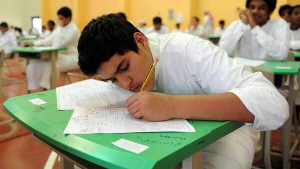 Saudi students sit for their final high school exams in the Red Sea port city of Jeddah. (File) - Sputnik International