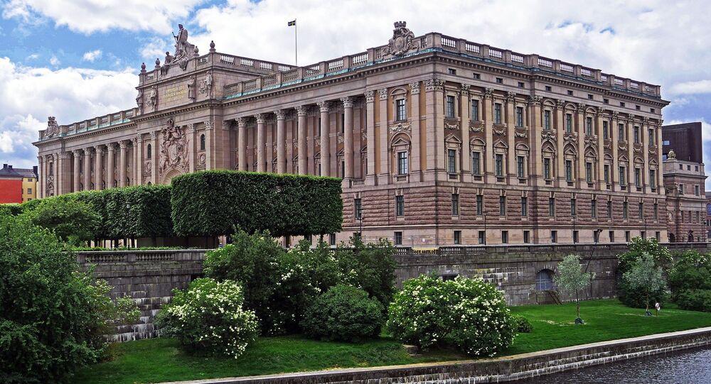 Sweden parliament building