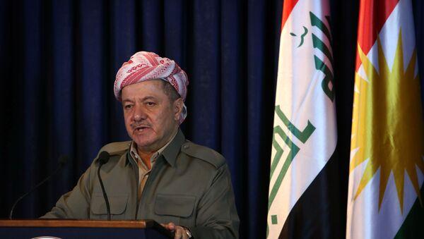Iraqi Kurdish President Masoud Barzani - Sputnik International