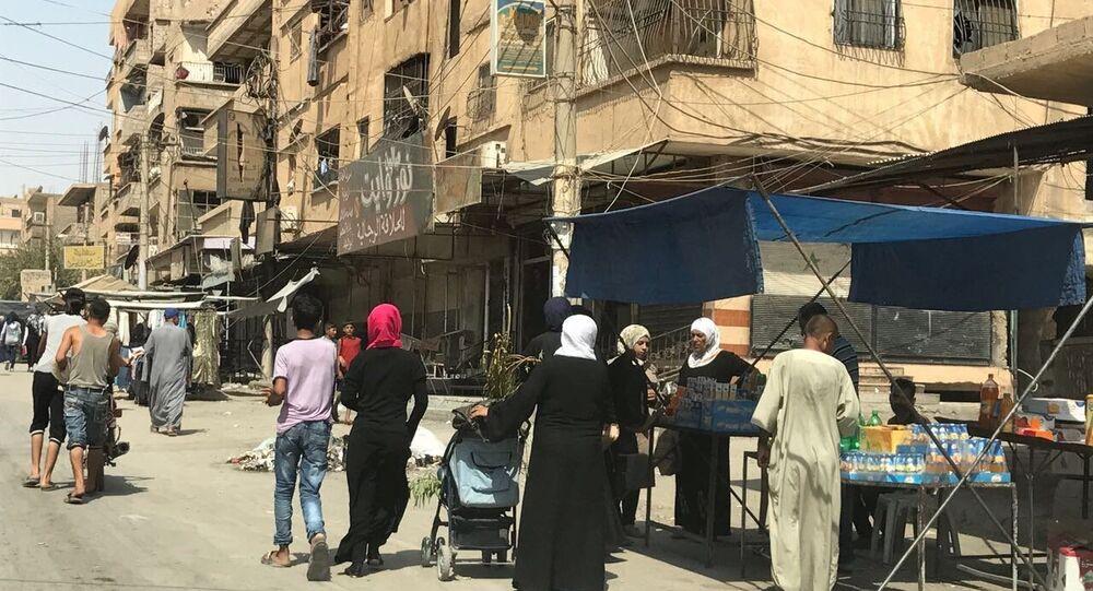 Peaceful life in Deir ez-Zor