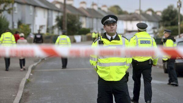 Police officers in London - Sputnik International