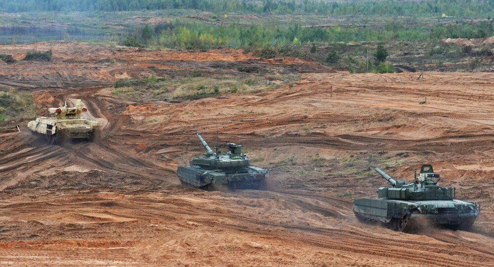 Military exercises in Leningrad Region