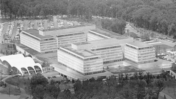 This is a general view of the new headquarters of the Central Intelligence Agency, CIA, at Langley, Virginia, on July 10, 1962. - Sputnik International