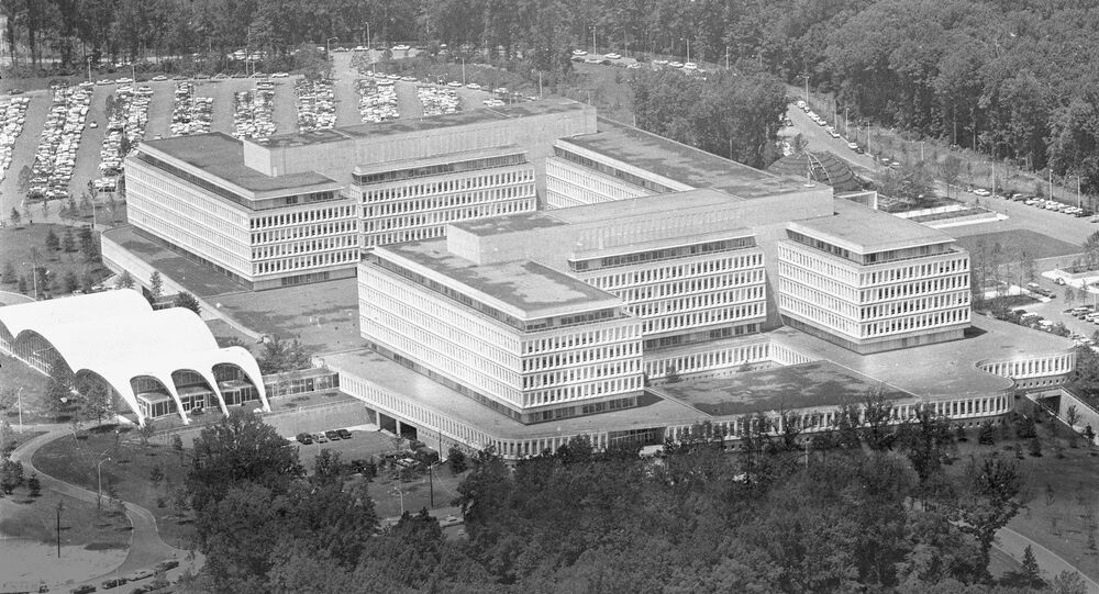 This is a general view of the new headquarters of the Central Intelligence Agency, CIA, at Langley, Va., on July 10, 1962