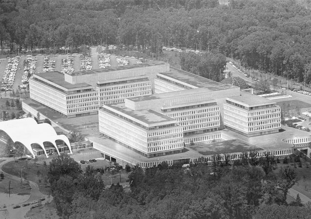 This is a general view of the new headquarters of the Central Intelligence Agency, CIA, at Langley, Virginia, on July 10, 1962.