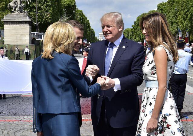 Trump Bastille Day