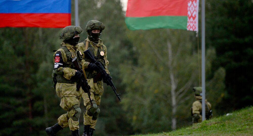 Zapad-2017 Russian-Belarusian exercises in Belarus