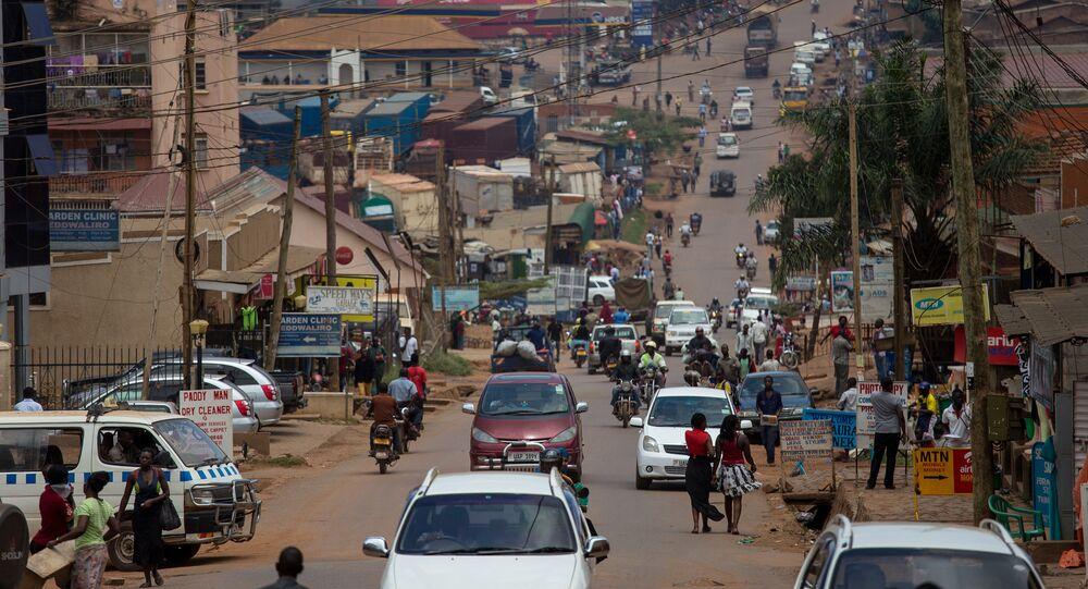 Street View of Kampala, Uganda