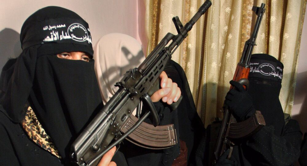 Female suicide Bomber. (File)