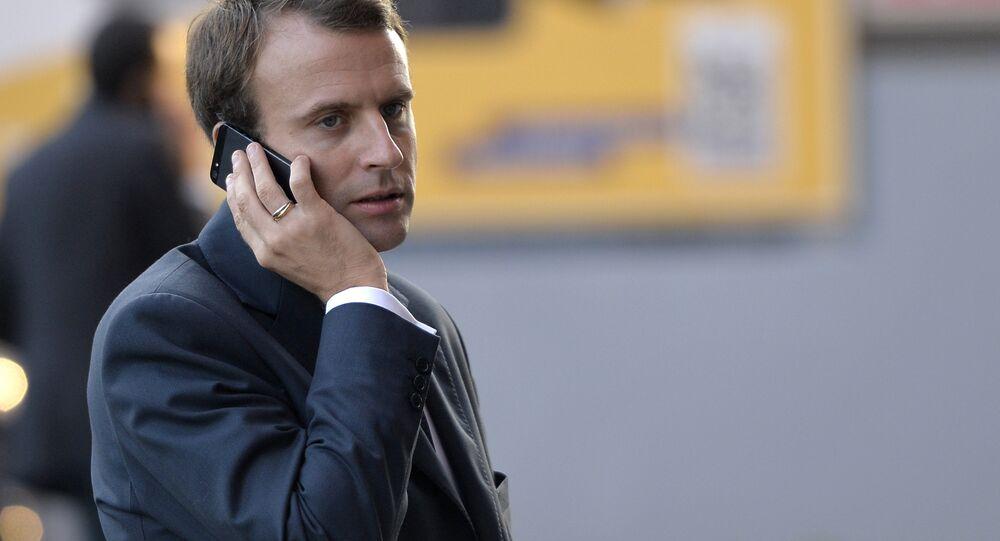 Alo Mr President Stolen Mobile Gives French Direct Access To Macron Sputnik International