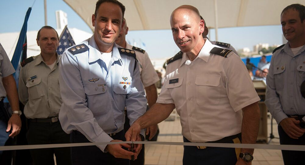 US-IDF Base in Israel
