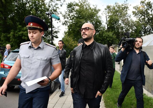 Court considers Kirill Serebrennikov's house arrest appeal