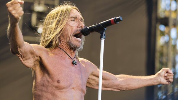 Iggy Pop performs at FYF Fest Day 3 at Exposition Park on Saturday, July 23, 2017, in Los Angeles - Sputnik International
