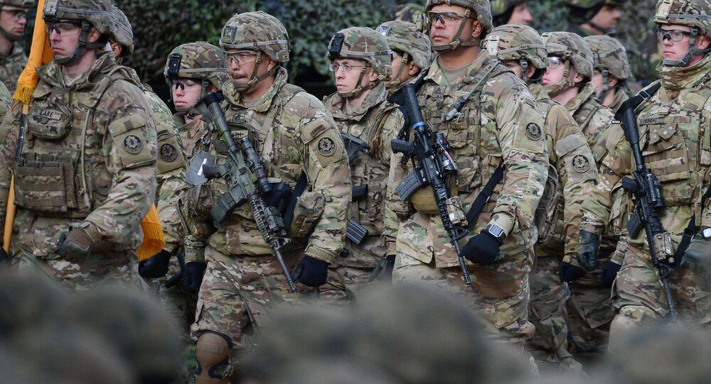 NATO's multinational battalion in Poland. (File)
