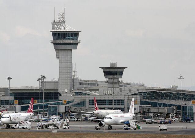 File Photo of  Ataturk Airport in Turkey