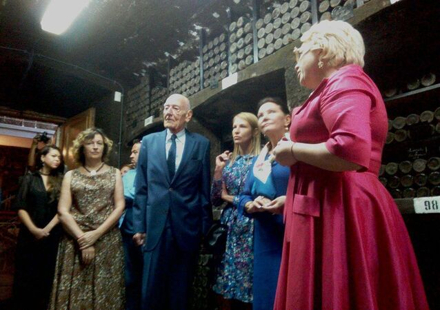 Descendant of Romanov dynasty Count Jan Bernadotte visits Crimea