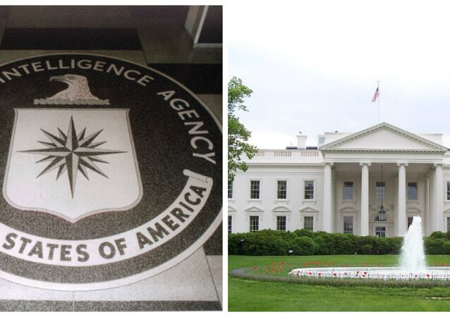 White House-CIA Collage