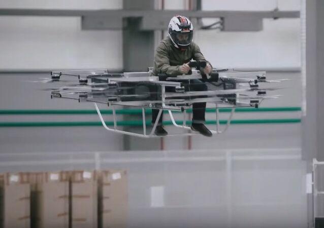 Kalashnikov Rolls Out a 'Flying Car'. File photo