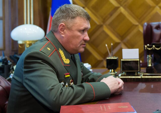 Major General Valery Asapov, commander of the 68th Army Corps. (File)