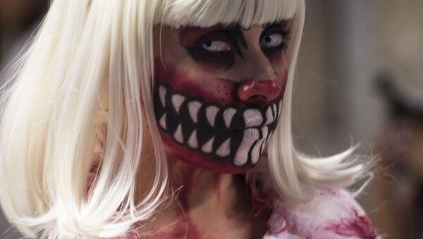 Zombie makeup - Sputnik International
