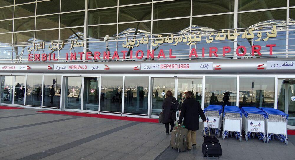 Erbil International Airport. (File)