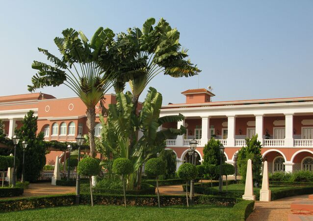 Presidential Palace in Luanda, Angola
