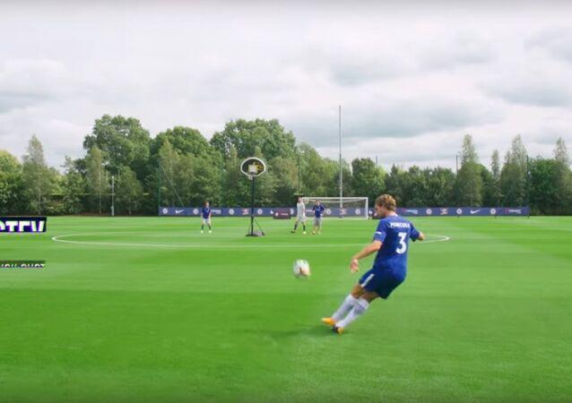 Soccer Trick Shots ft. Chelsea F.C. | Dude Perfect