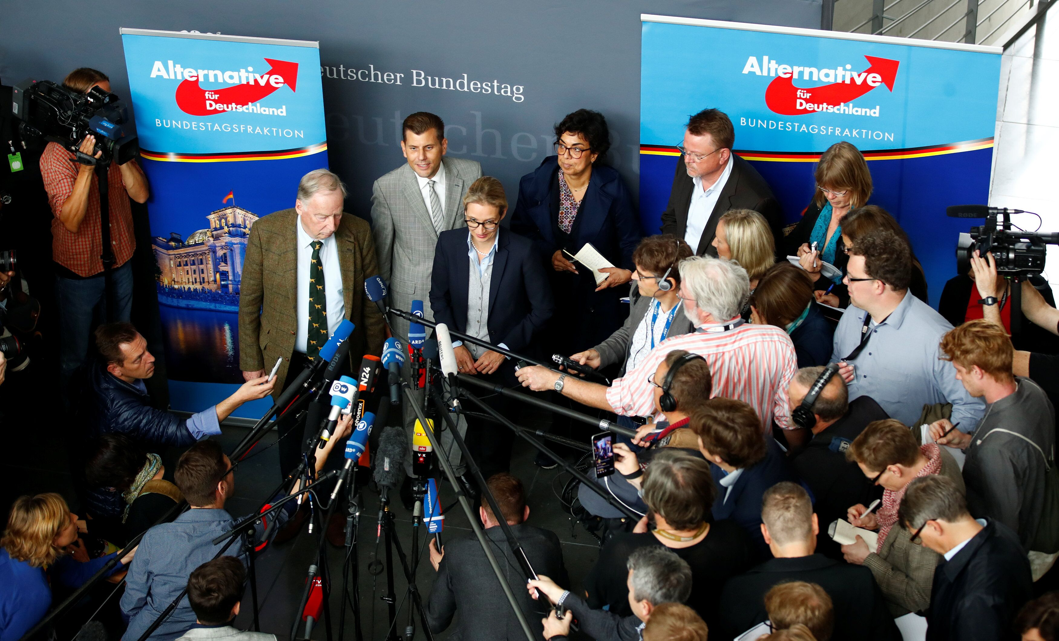 AfD says German state, media favor the left — do they
