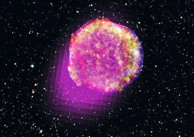 Tycho Brahe star shines in gamma rays