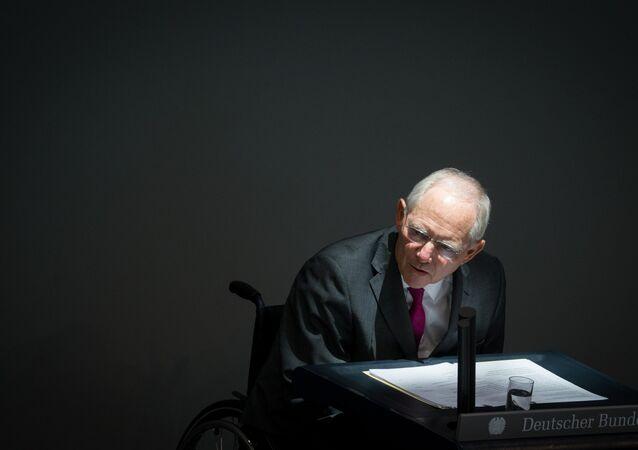 German Finance Minister Wolfgang Schaeuble  (File)