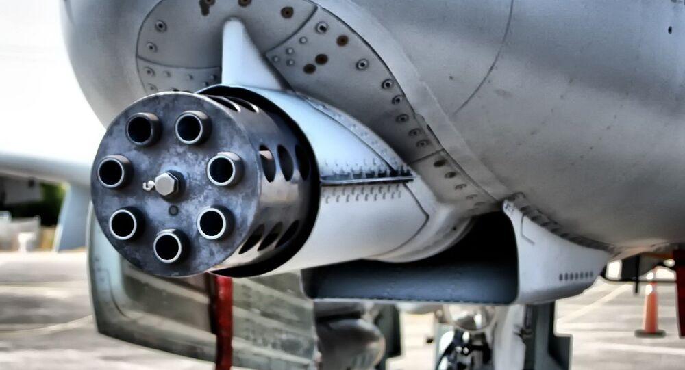 A-10 Thunderbolt II Cannon
