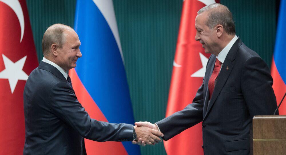 Visit of Russian President Vladimir Putin to Ankara, Turkey