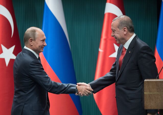 Visit of Russian President Vladimir Putin to Ankara, Turkey