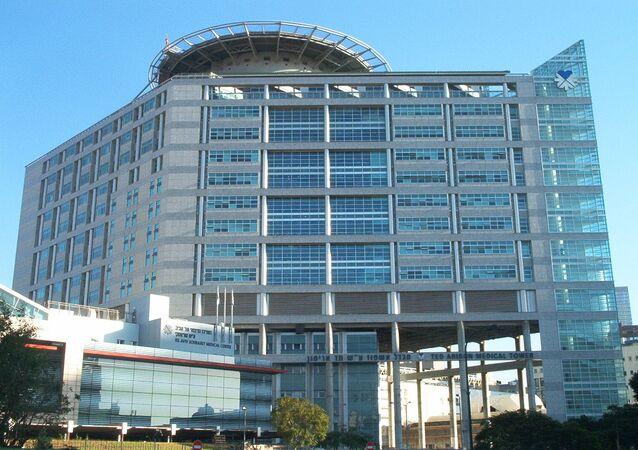 Ted Arison medical tower in the Tel Aviv Sourasky medical center (Ichilov Hospital)