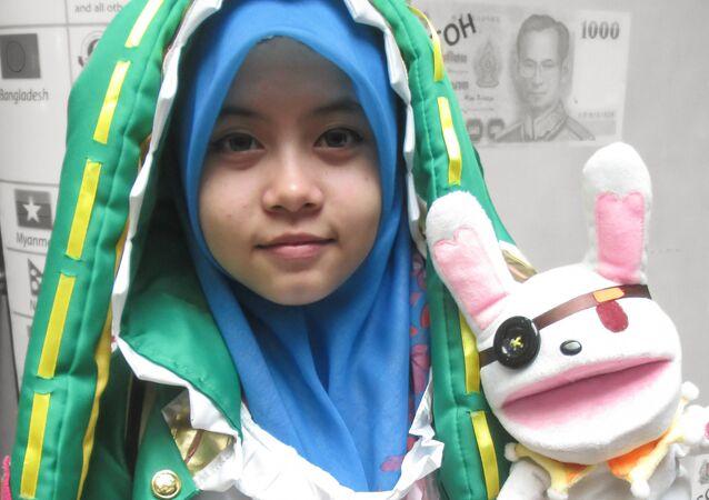 Hijab cosplayer. (File)