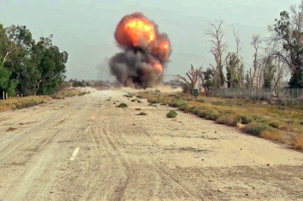Destruction of ammunition