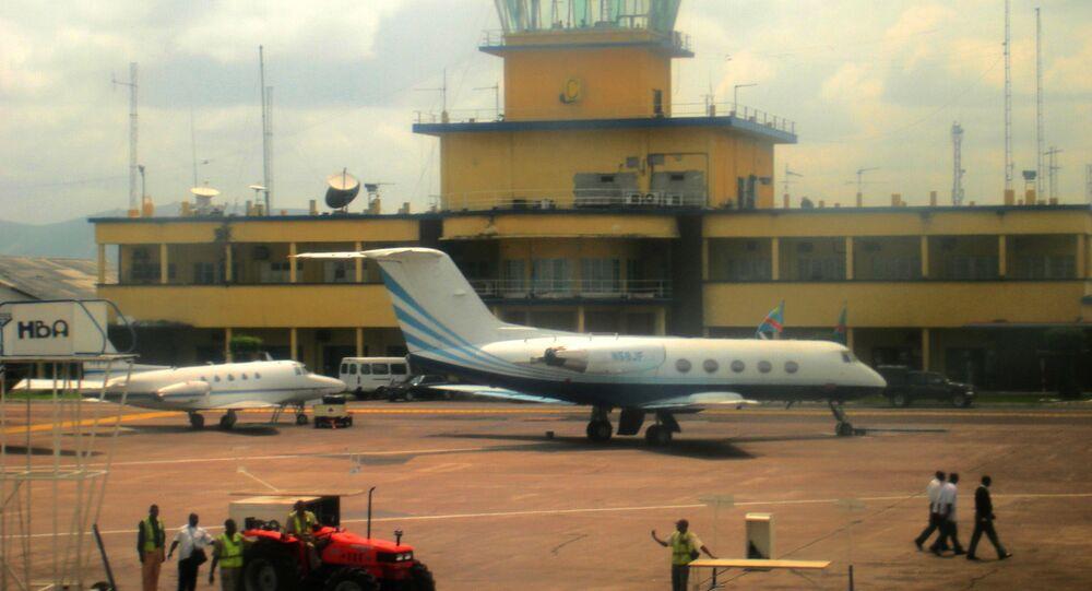 International airport of Kinshasa. File photo