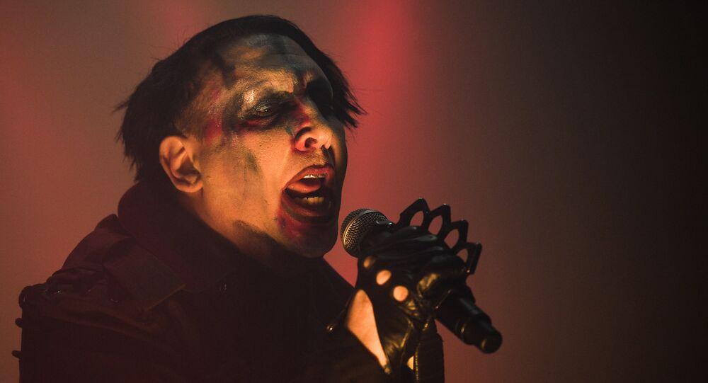 Marilyn Manson. File photo