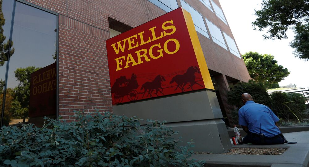 A Wells Fargo banking location is pictured in Pasadena, California, U.S., September 8, 2017