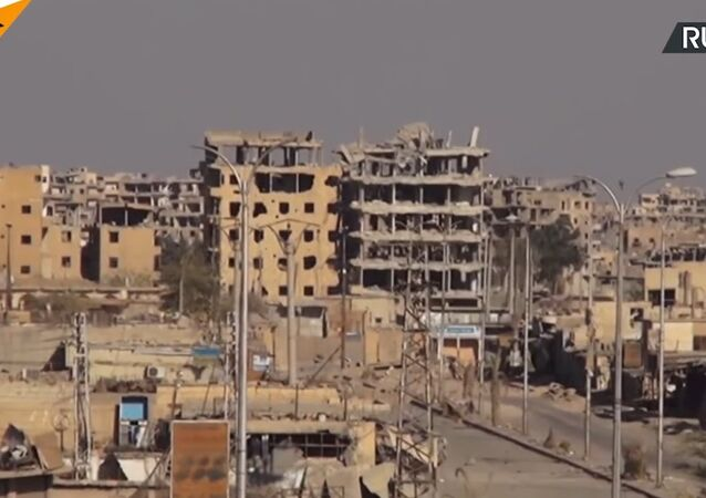 Ruins Of The Former Daesh Capital